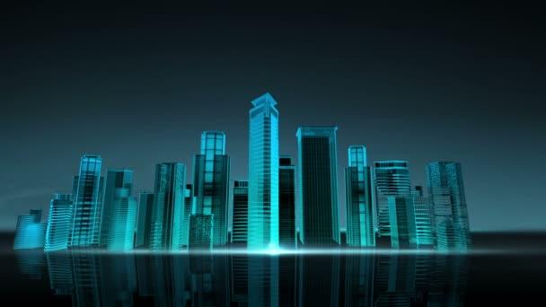city in sky
